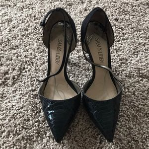 Black Sam and Libby heels - size 7